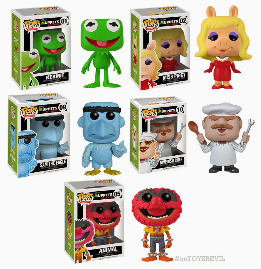 Pop Disney Muppets Most Wanted From Funko