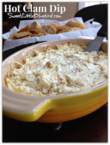 Hot Clam Dip!  The best!  Only 4 Ingredients!