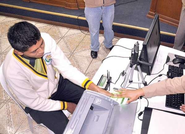 Padrón electoral Bolivia