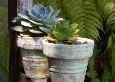 beautiful diy flower pot ideas lines across
