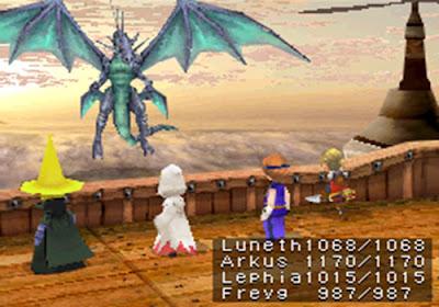 Game Final Fantasy III Telah Dirilis Untuk Android