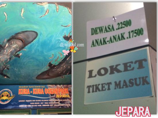 tiket masuk, HTM Kura-kura ocean Park Jepara