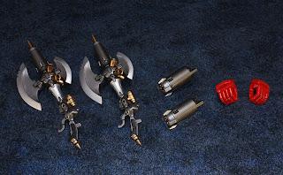 Artstorm Fewture Models Getter Robo Double G Tomahawk gift set