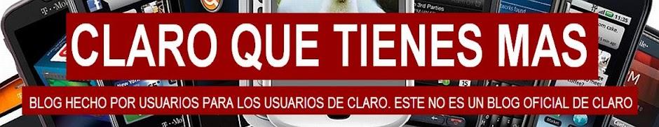 CLARO QUE TIENES MAS