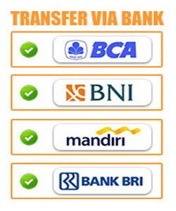 TRANSFER VIA BANK