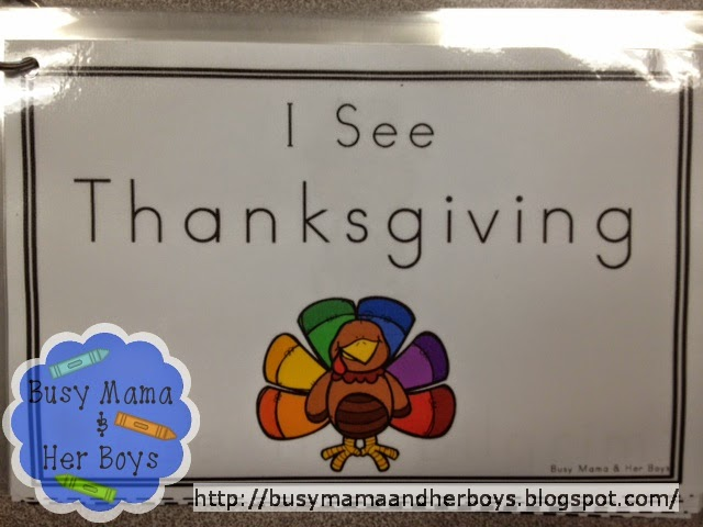 http://www.teacherspayteachers.com/Product/Thanksgiving-Little-Reader-More-1544478