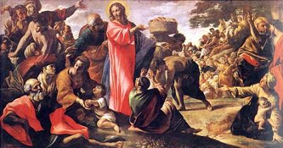 Jesus sacia a fome do povo