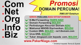 domain, percuma, free, sesiapa saja, berita baik, masih dibuka.