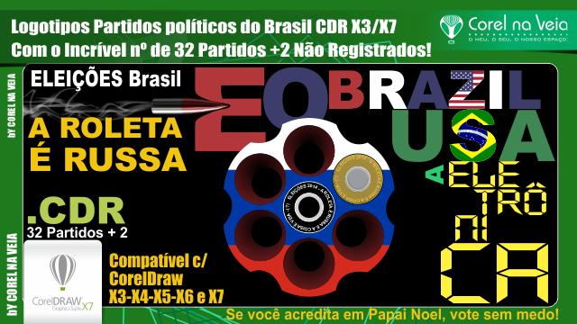 Logotipos vetorizados dos 32 Partidos Políticos Free