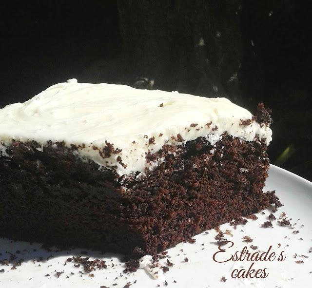 receta de tarta Guinness - corte