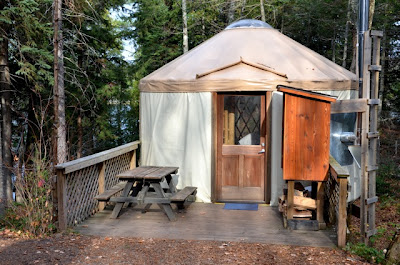New Craig Lake State Park (Mich.) yurt now available for campers