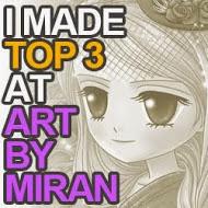 Top 3 artbymiran challenge nº40