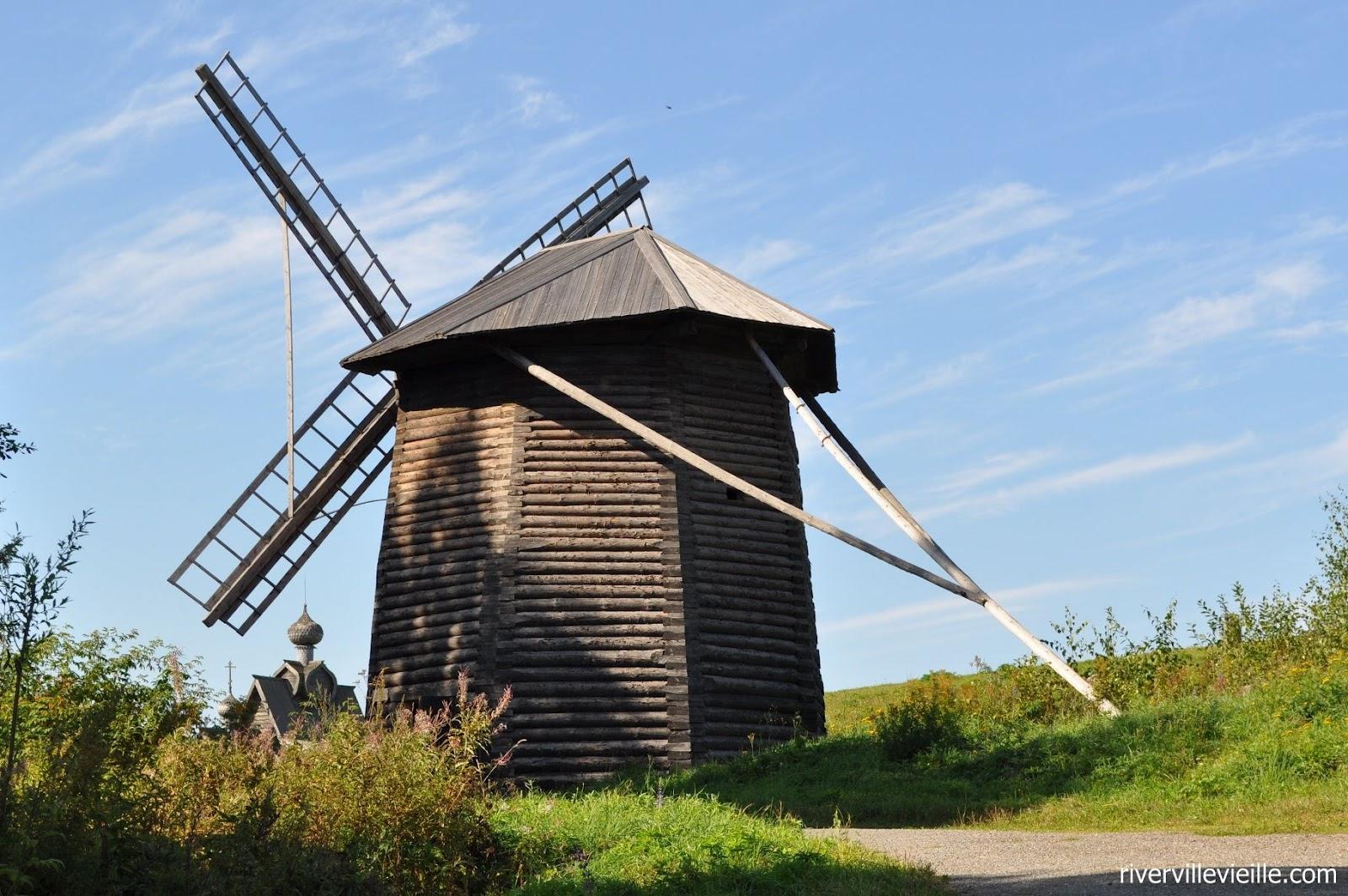 схема движения ветряной мельницы