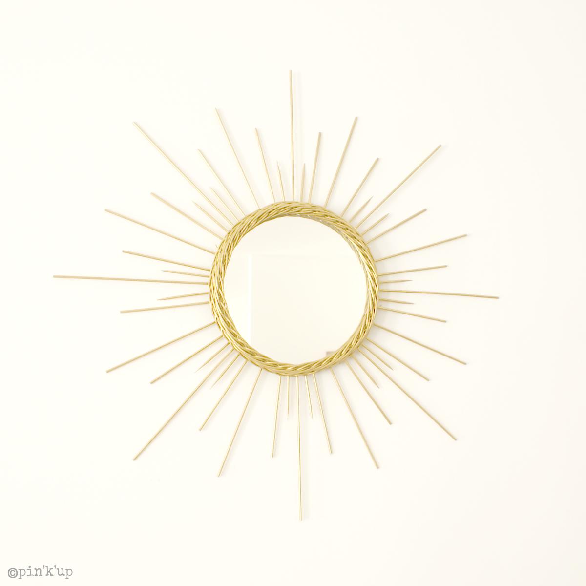 Pin 39 k 39 up diy r aliser un miroir soleil for Decouper un miroir