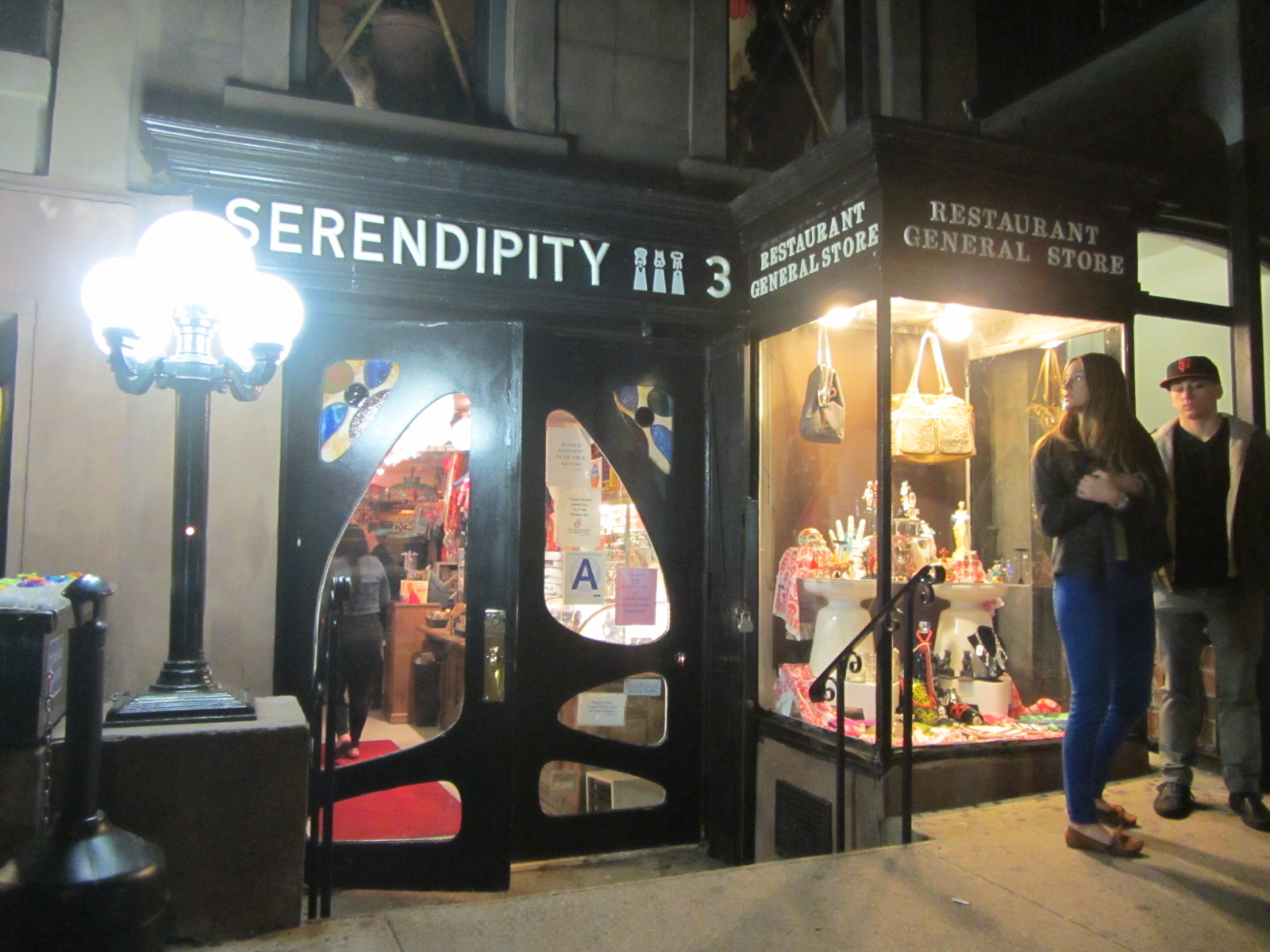 New York: Serendipity 3