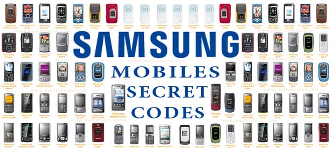 Samsung mobile Secret codes (GSM)