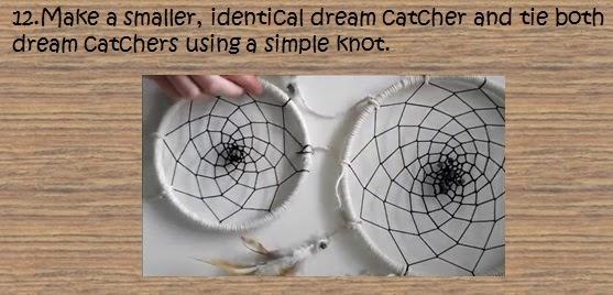 Diy how to make a dream catcher toko dreamcatcher for How do u make a dreamcatcher
