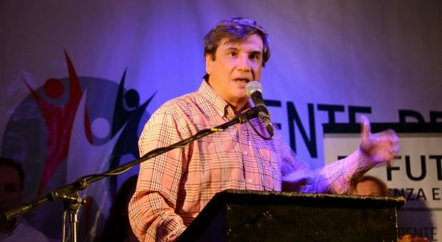 El intendente de Rivadavia, Sergio Buil, fue uno de los dos representantes del GEN en el lanzamiento de 'UNEN'