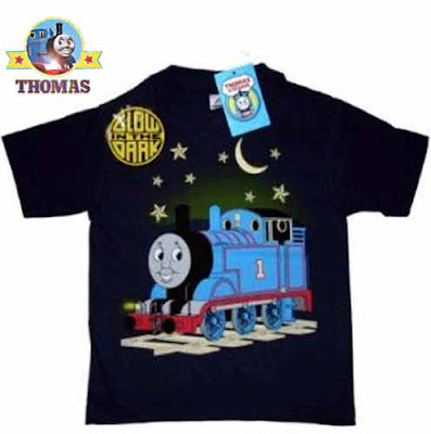 Thomas and friends glow in the dark shirts of boys Halloween Costume UV reactive paint outfit top