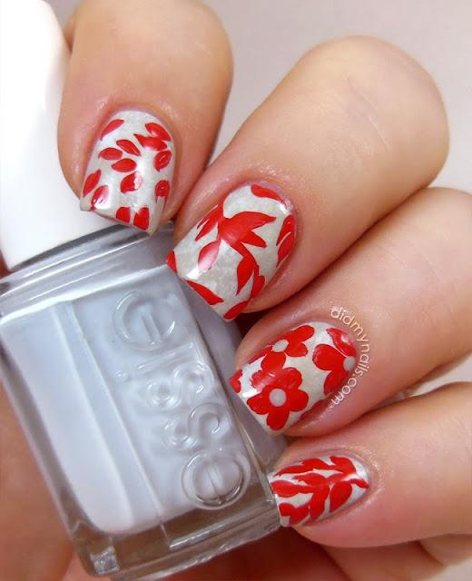 martha stewart nail art