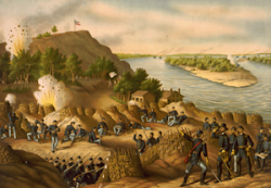 SIEGE OF VICKSBURG, by Kurz and Allison.