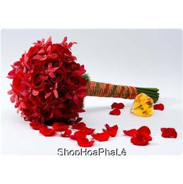 Cách bó hoa hồng 13