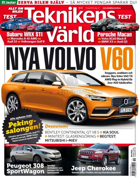 Modellneuheiten Neuer Volvo V60 Kommt 2017 Mit Bis Zu 410