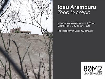 Todo lo sólido - Iosu Aramburu (Galería 80M2)