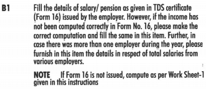 how to file income tax return for pensioners in india