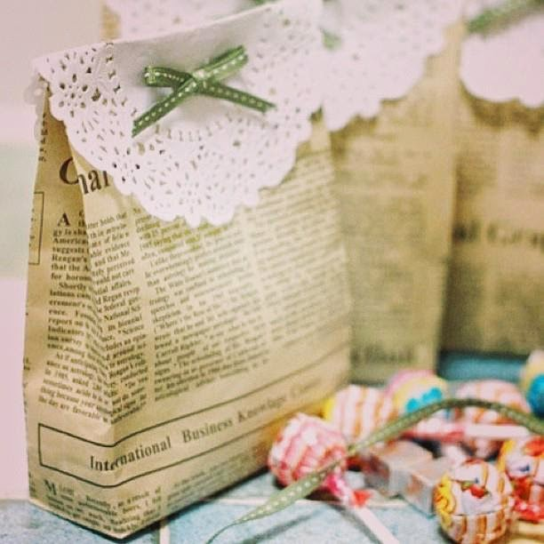 Green gift wrapping ideas for christmas