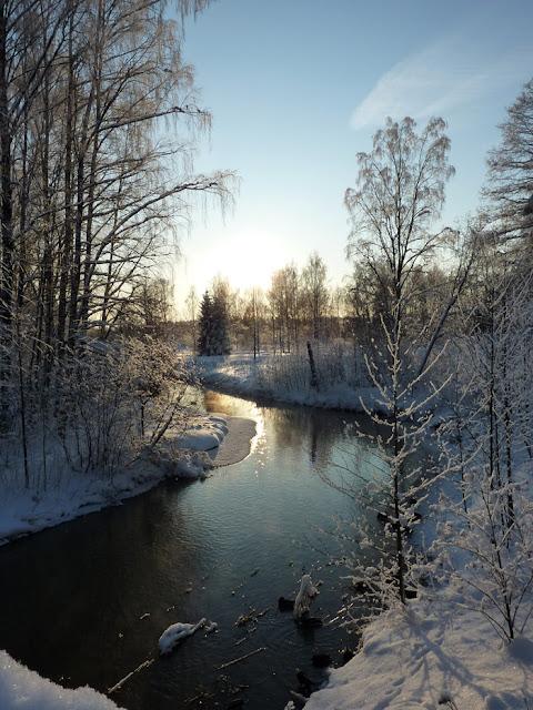 Maisemakuva 01 - Talvi 2012 Tuusula