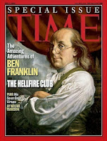 Benjamin Franklin Time magazine