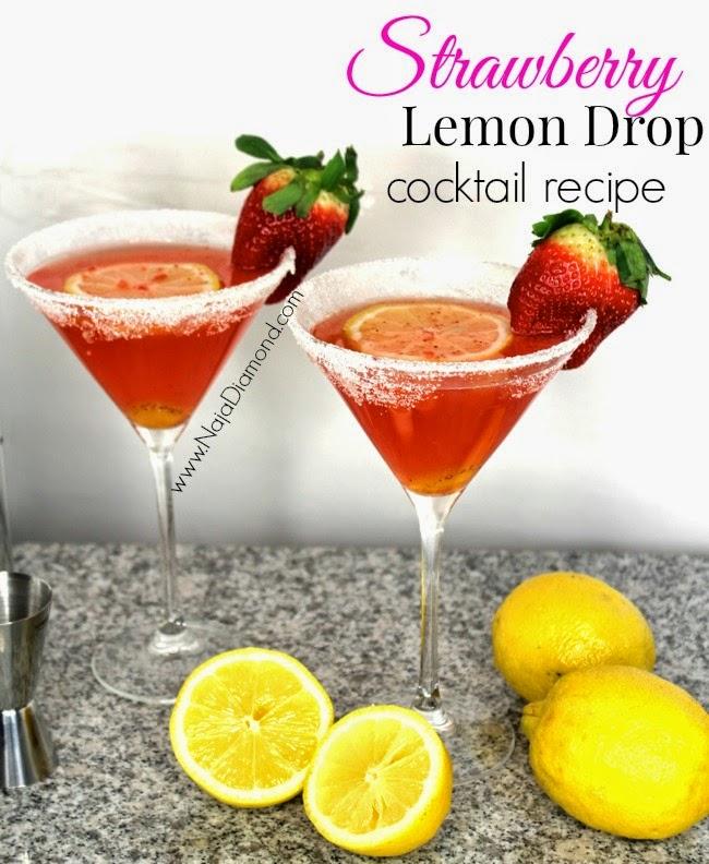 Spring Cocktail Recipe: Strawberry Lemon Drop