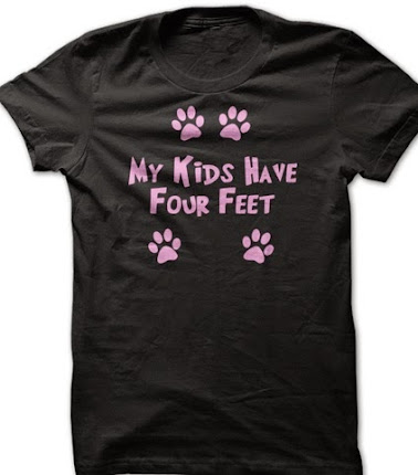 My Kids Have Four Feet Tee Shirt or Hoodie