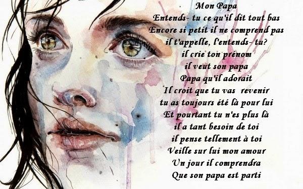 Préférence Message d'Amour et d'Amitié: Poème sur le Deuil, un décès la perte  YD45