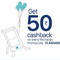 Paytm Recharge 20% cashback on Chennai and Tamilnadu aircel