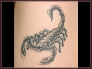 Zodiak Tattoos Gallery - Scorpio Tattoo