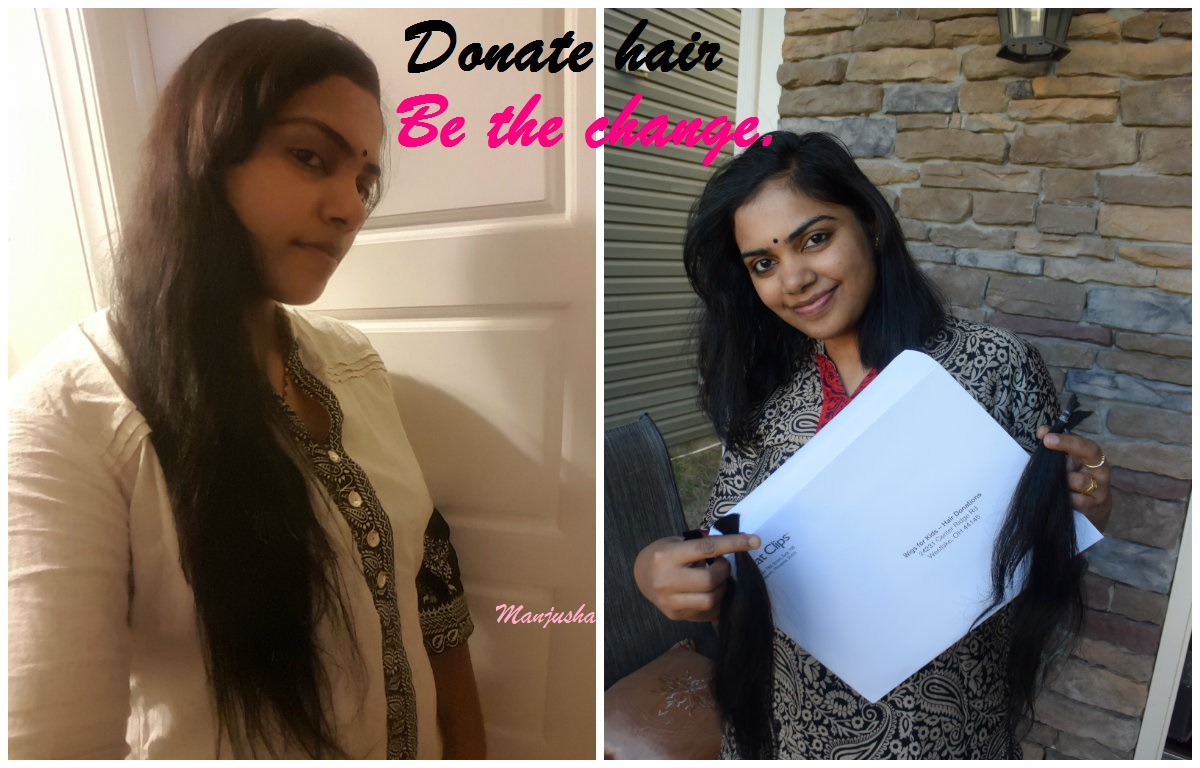 Be The Change Donate Your Hair I Did
