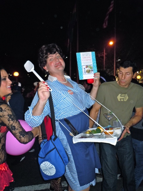 Julia Child WEHO Halloween Carnaval