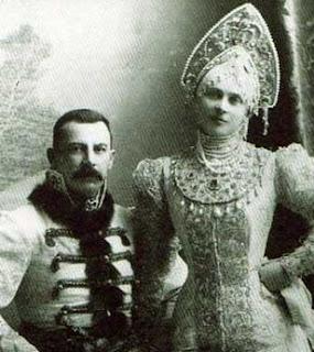Felix Felixovich Soumarokov-Elston 1856-1928 et Zénaïde Nikolaïevna Youssoupoff 1861-1939