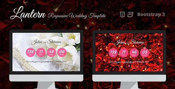 best Responsive Bootstrap Wedding Template