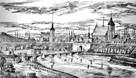 Matthaus Deisch (1724-1789) Brama sw. Jakuba w Gdansku (ca. 1775)