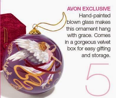 Avon Christmas Ornaments - Avon Campaign 24 2014 Brochure