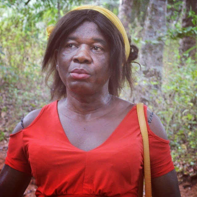 chiwetalu agu dressed woman