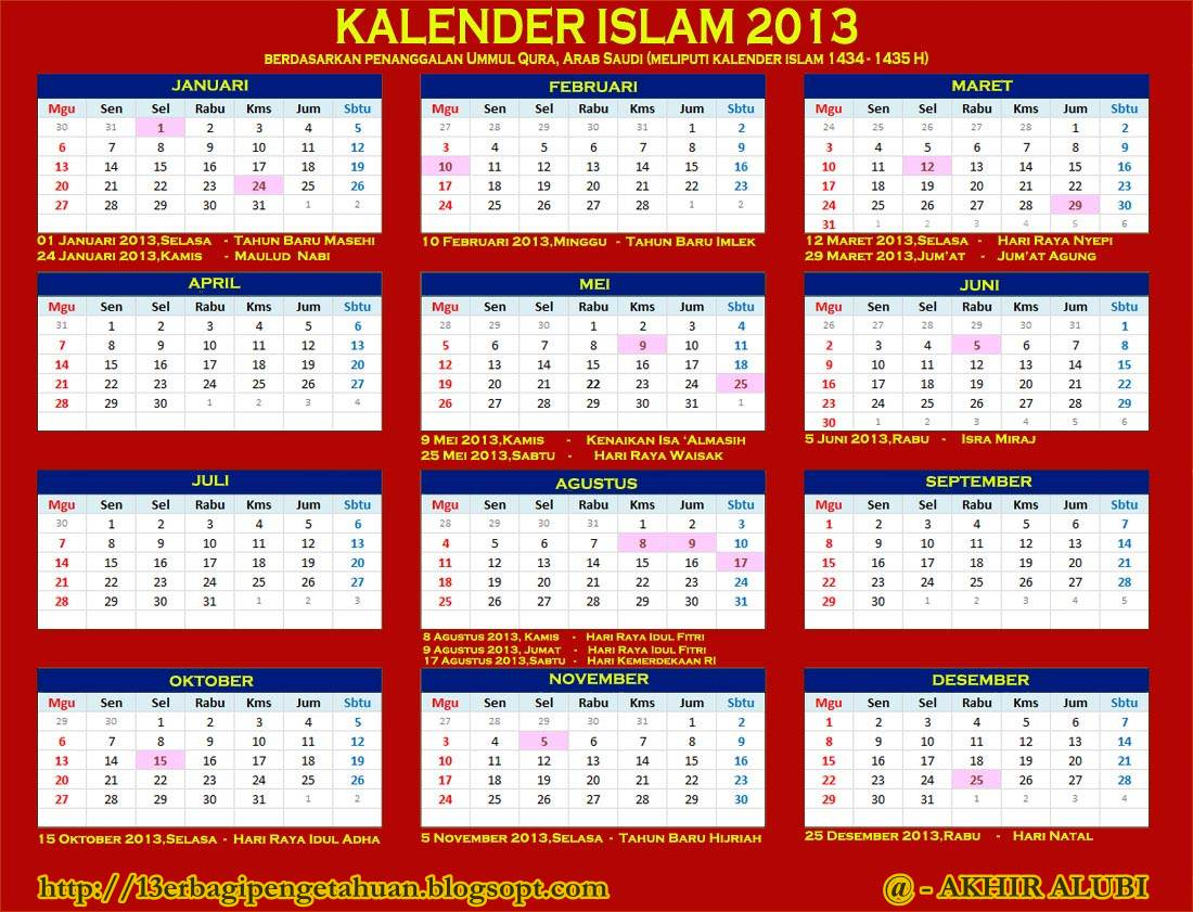 Download Kalender Islam 2013.pdf