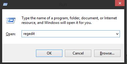 Regedit,run,menu plus r,shortcut windows