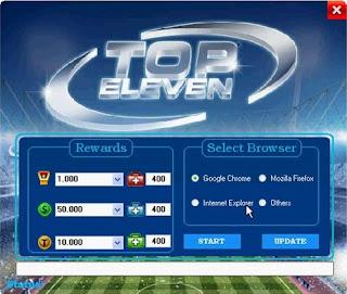 Top Eleven Hack 2013
