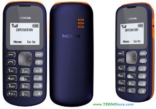 perbedaan nokia 100 dan 101, beda hp nokia 101 dan 103, handphone nokia murah meriah, hp dual sim tangguh