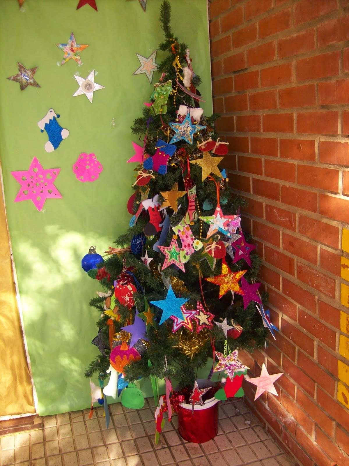 Educaci n infantil ceip padre manjon nuestra ambientaci n for Ambientacion para navidad