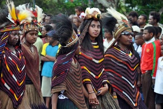 Ini Cara Membedakan Gadis dan Wanita Masyarakat Papua